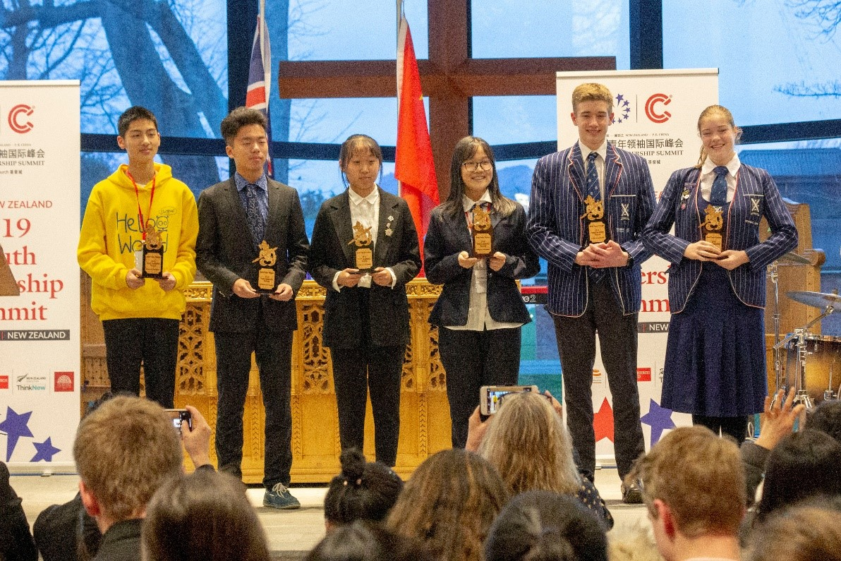 Chinese and Kiwi students come together for Youth Summit