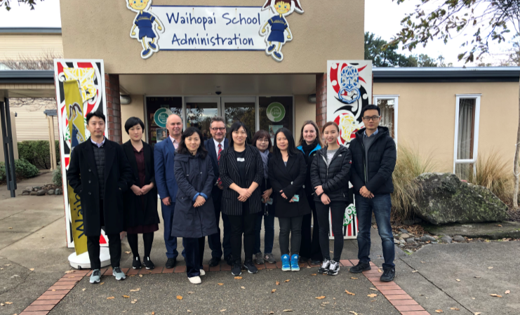 Chinese and Korean education agents visit New Zealand