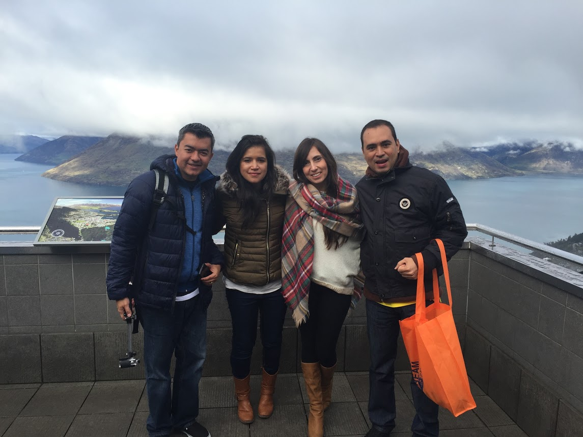 Colombian Agents enjoying the sights of Queenstown