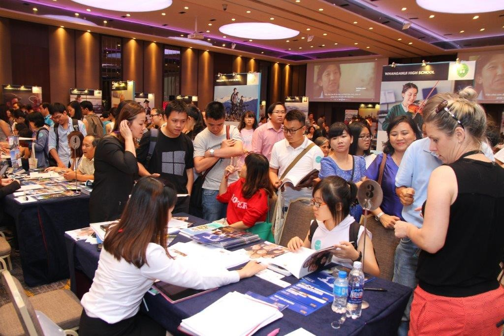 Education Fair in Hanoi