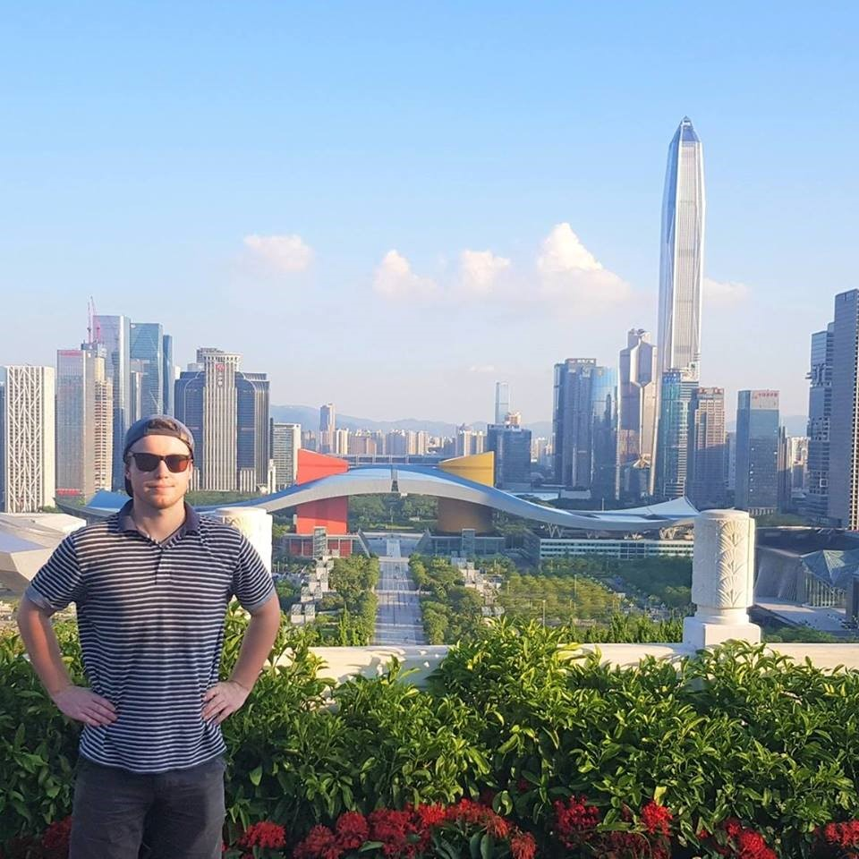 Jack Cutler in China