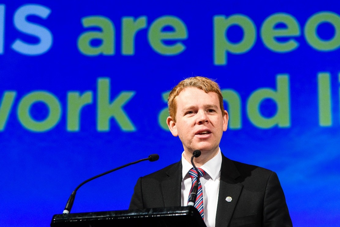 Minister of Education Chris Hipkins to address NZIEC 2019