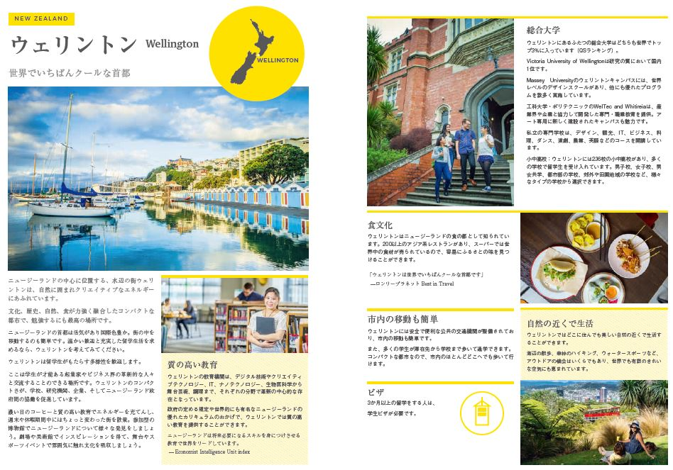 Wellington JApan guidebook